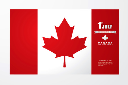 First of July. Happy Canada day!