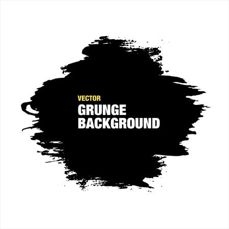 Noir vecteur fond grunge. Vector Illustration