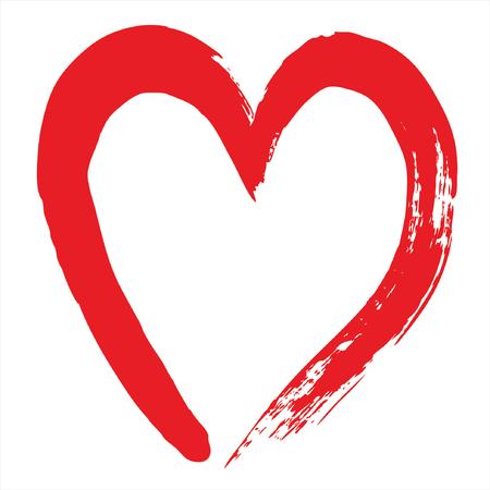 hand beats: cupids heart Illustration