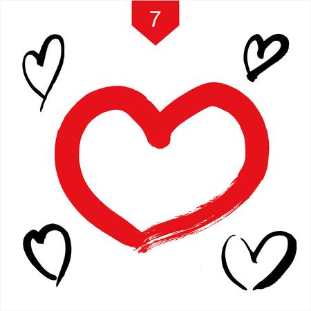 hand beats: grunge heart set