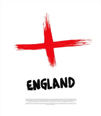 bandiera inghilterra: grunge Inghilterra bandiera
