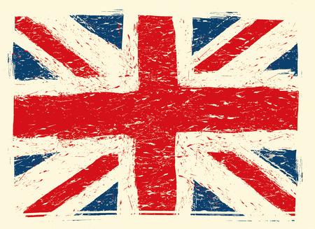 great: grunge great britain flag
