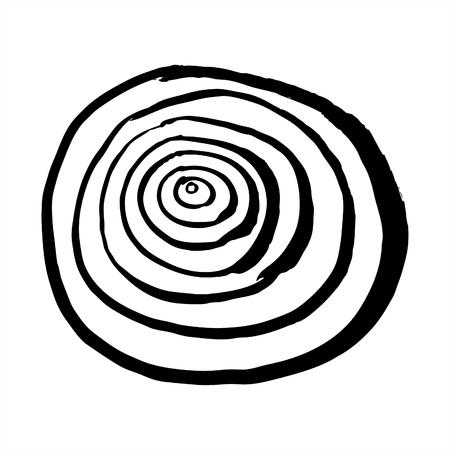rhythm: hand drawn pattern background
