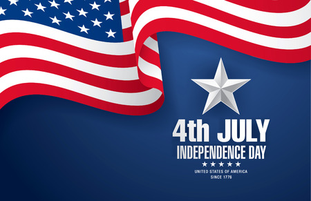 quatrième de juillet indépendance jour
