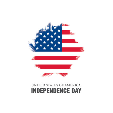 Independence Day of the United States 向量圖像
