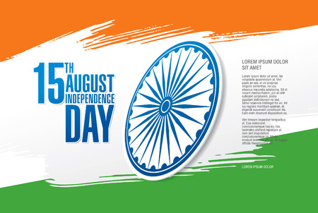 august: Independence Day of India. 15 th of August