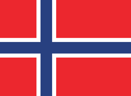 norway flag: norway flag Illustration