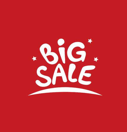 big sale banner template design