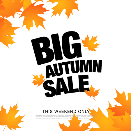 Big autumn sale Illustration