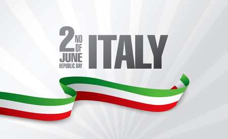 Italy. Second of June. Republic day