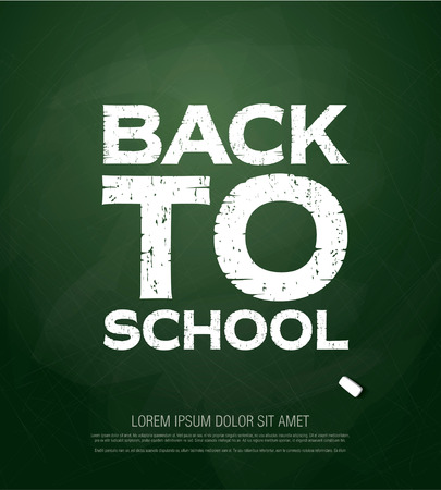 Welcome Back to School banner Illustration