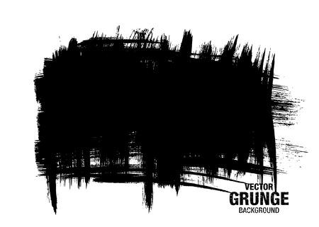 daub: vector black grunge background Illustration