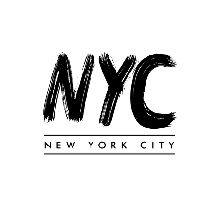docket: New York City lettering. NYC