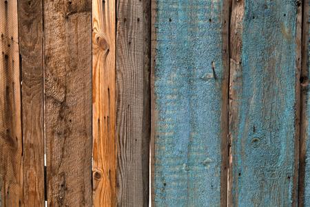 peeling: old wooden cracked peeling wall Stock Photo