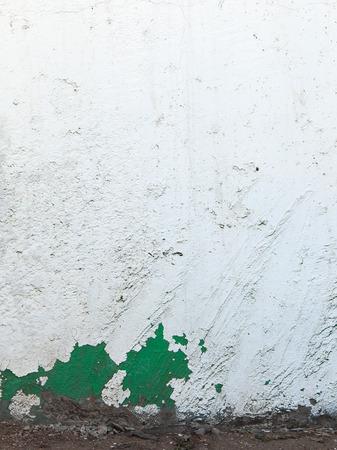 cranny: white wall texture background Stock Photo
