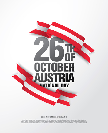 National day in Austria - October 26