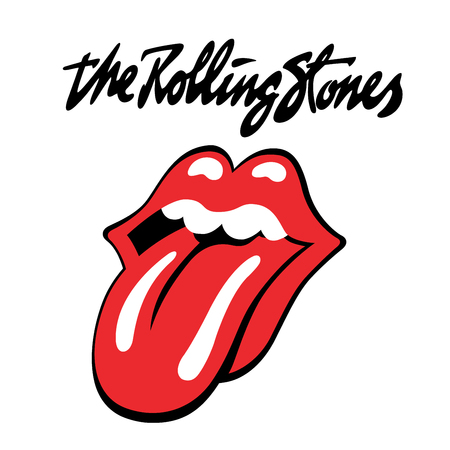 RUSSIA - OCTOBER 07, 2016: The Rolling Stones logo 에디토리얼