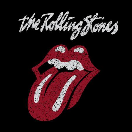 bouche homme: RUSSIE - 7 octobre 2016: Le logo des Rolling Stones