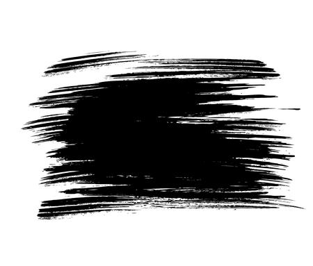 daub: Vector grunge background. Vector brush stroke Illustration