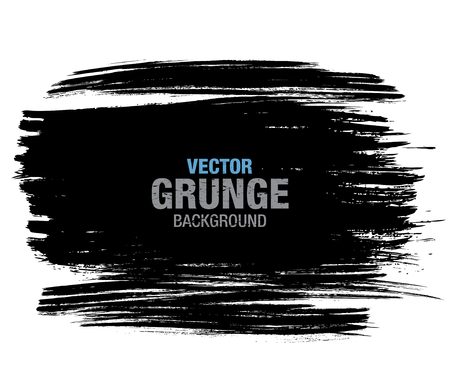 Vector grunge background. Vector brush stroke Иллюстрация
