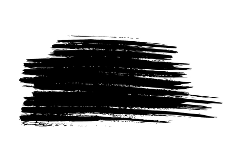 splotches: Vector grunge background. Vector brush stroke Illustration