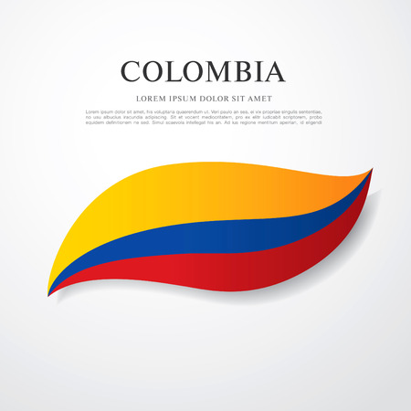 republic of colombia: flag of colombia