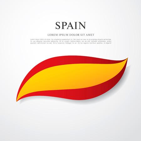 kingdom of spain: flag of spain