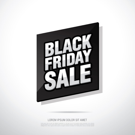 end of the days: Black friday Sale banner