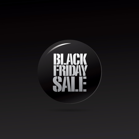 Black friday sale icon Illustration