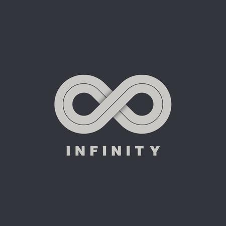 Infinity symbol icon. Infinity symbol