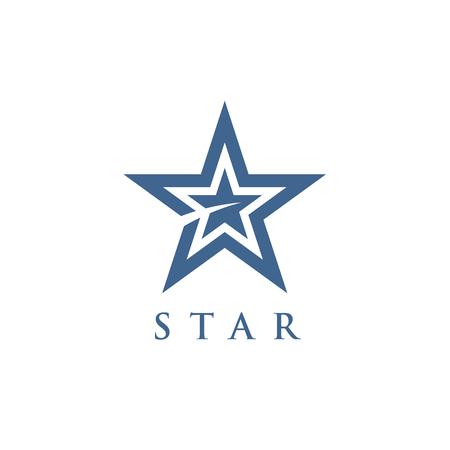 star symbol logotype Illustration