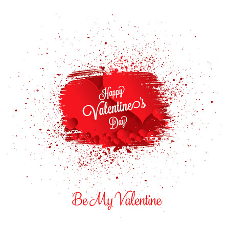 Valentines greeting card happy valentines day royalty free valentines greeting card happy valentines day stock vector 70458454 m4hsunfo
