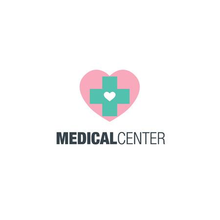 dispensary: Medical center logo design.