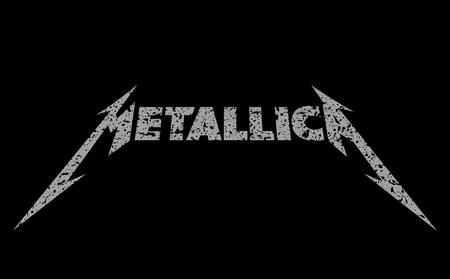 RUSSIA - FEBRUARY 09, 2017: Metallica logo Editorial