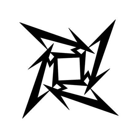 to thrash: RUSSIA - FEBRUARY 09, 2017: Metallica symbol Editorial