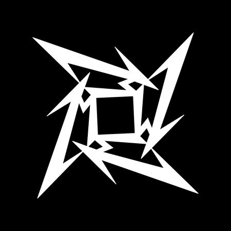 RUSSIA - FEBRUARY 09, 2017: Metallica symbol Editorial