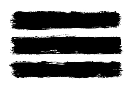 horizontal brush stroke stripes
