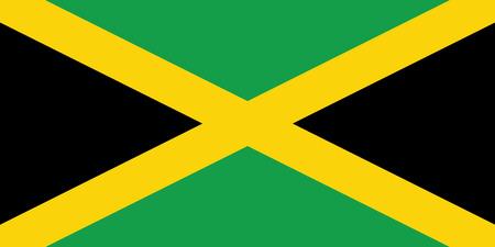 flag of jamaica Illustration