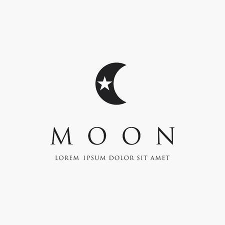 Moon And Star Logo Islam Symbol Royalty Free Cliparts Vectors And
