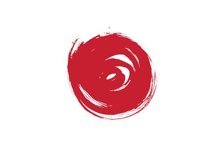 japanese flag 向量圖像