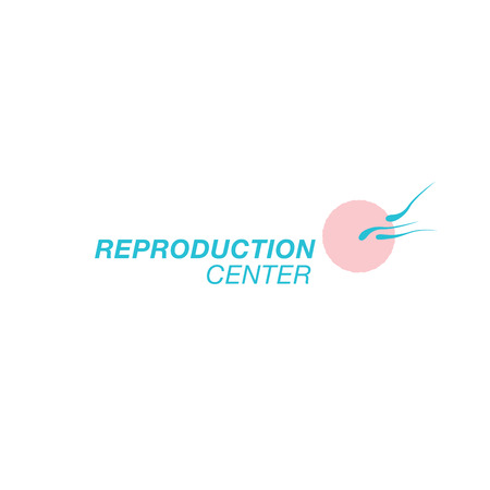Reproduction center design Illustration
