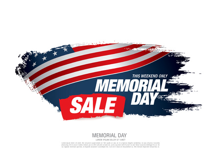 discount banner: Memorial day sale banner