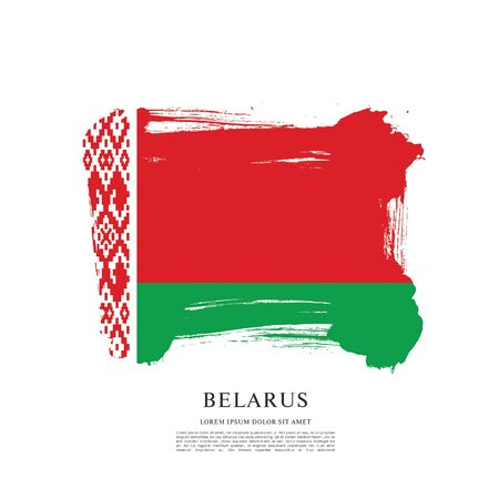 Vector illustration design of Belarus flag layout