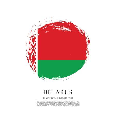 Vector illustration design of Belarus flag layout