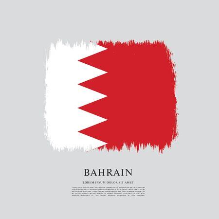 Drapeau de bahreïn Vecteurs