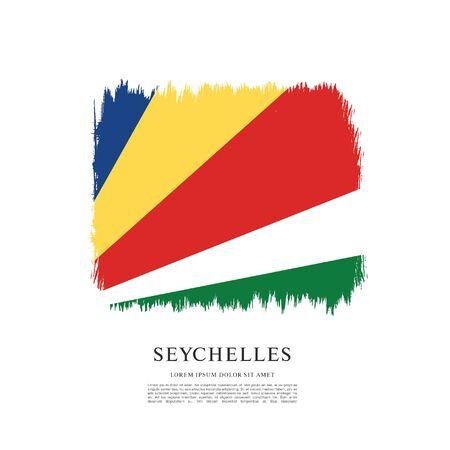 Vector illustration design of seychelles flag 스톡 콘텐츠 - 129932134