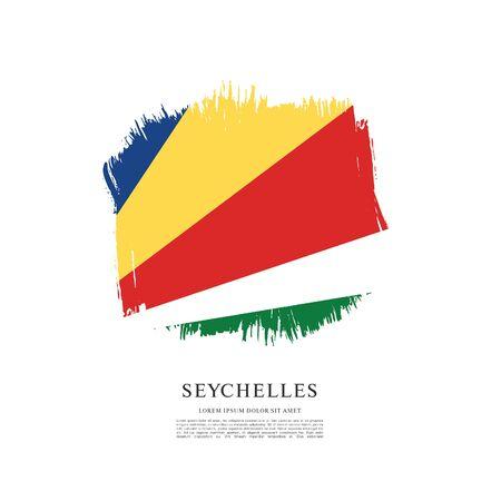 Vector illustration design of seychelles flag 스톡 콘텐츠 - 129932176