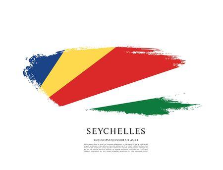 Vector illustration design of seychelles flag 스톡 콘텐츠 - 129932184