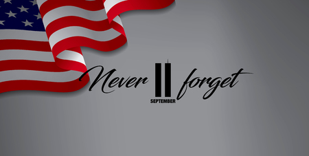 September 11, We will never forget. Stock fotó - 85438328