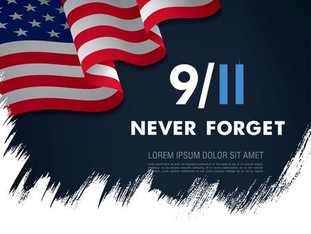 Le jour des patriotes. 11 septembre. Je n'oublierai jamais Banque d'images - 87819928